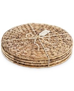 Round Natural Fiber Placemats Keep Calm And Kary On